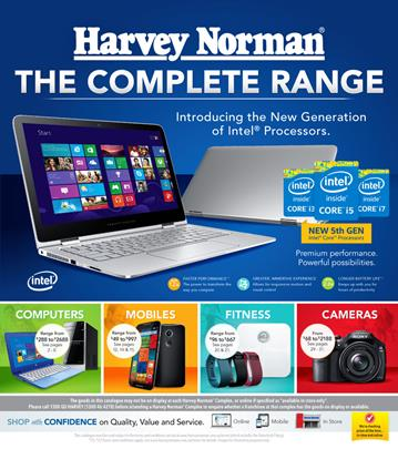 Last Day for Complete Range Harvey Norman Catalogue