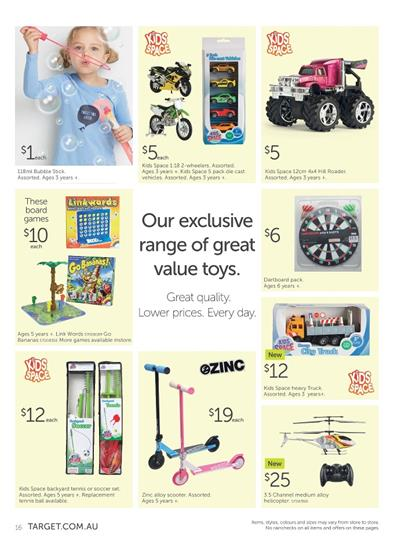 Toy Sale Target Catalogue March 2015