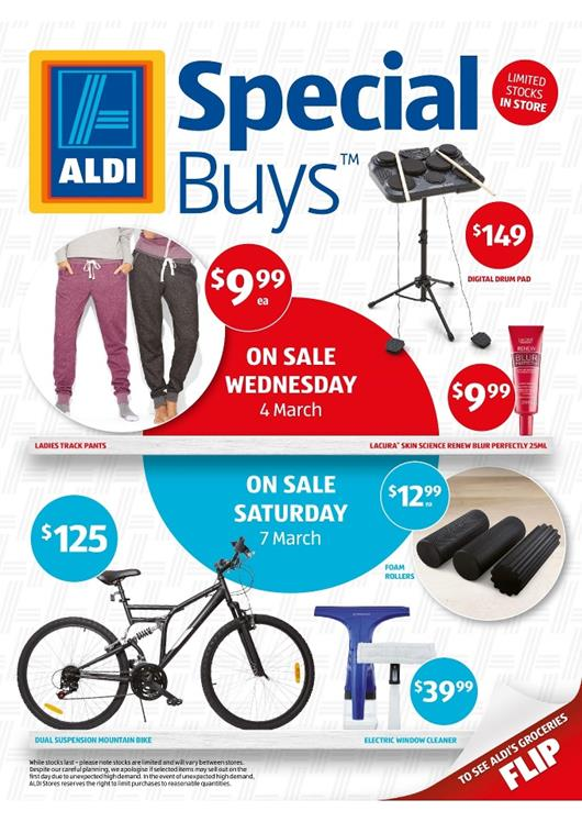 View Aldi Catalogue Special Buys Week 10
