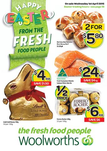 Woolworths Specials Catalogue April 2015