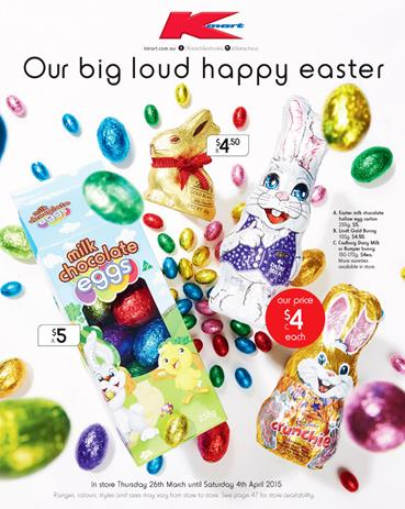 Kmart Easter Egg Prices from Latest Catalogue