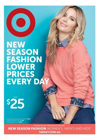 Target Clothing Winter Season April Catalogue