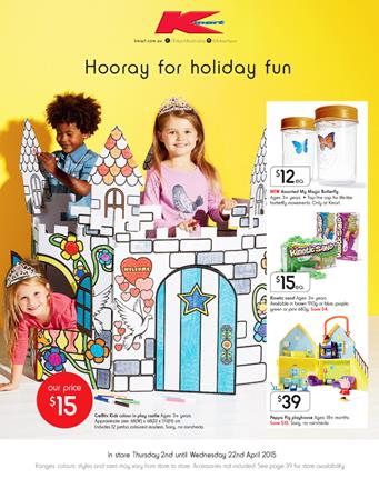 Toys and Entertainment Kmart Catalogue April 2015