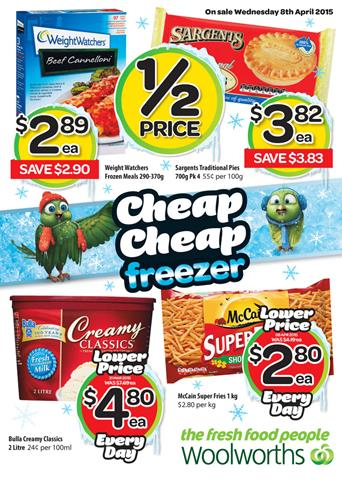 Woolworths Catalogue 8th April 2015