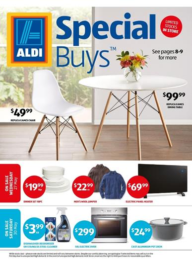ALDI Catalogue Special Buys Week 22 Winter Home Products May 2015