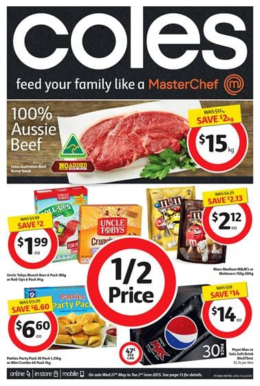 Coles Catalogue 27 May 2015 Products