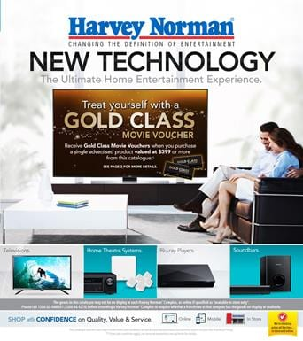 Harvey Norman Home Entertainment Catalogue 8 May 2015