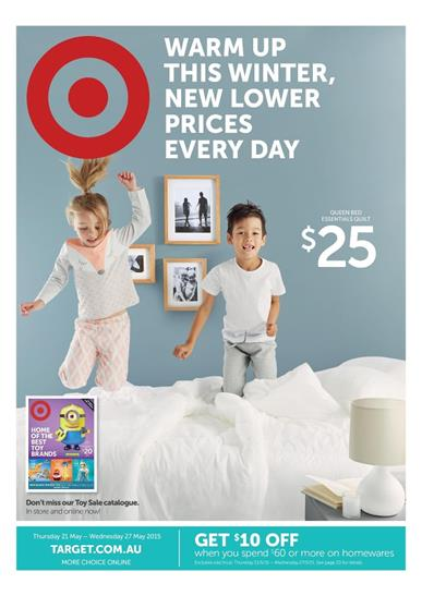 Target Catalogue Home Sale Winter 21 May 2015