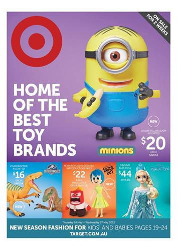 Target Toy Brands Catalogue 14 May 2015