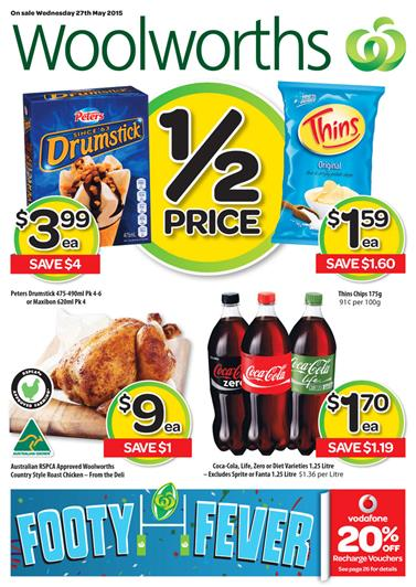 Woolworths Catalogue 27 May 2015 Products and Specials