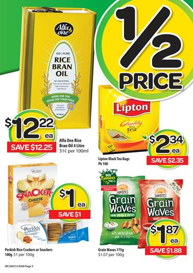 Woolworths Catalogue Half Price Cheap Cheap Specials 23 May 2015