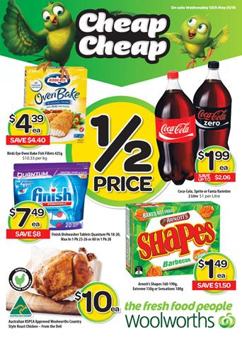 Woolworths Catalogue Specials 13 May 2015