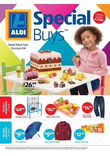 ALDI Catalogue Special Buys Week 25 Kids Toys and Clothing