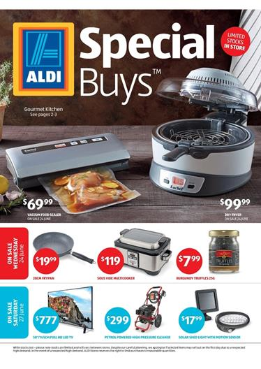 ALDI Catalogue Special Buys Week 26 Kitchen Ware and Electronics Jun 2015