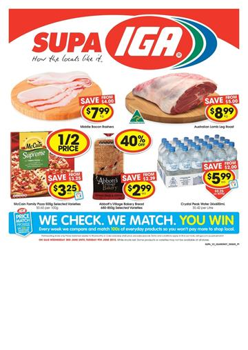 IGA Catalogue Sale 03 June 2015 All Products