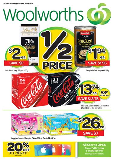 Woolworths Catalogue 03 June 09 June 2015