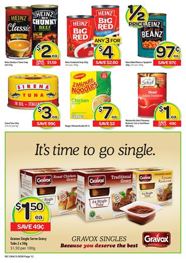 Woolworths Catalogue Snacks and Specials 14 Jun 2015