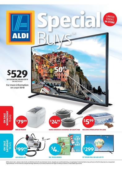 ALDI Catalogue Special Buys Week 29 - 15 July - 18 July 2015