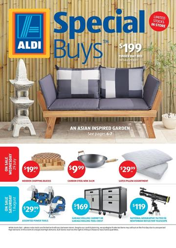 ALDI Catalogue Special Buys Week 31 Home Sale Jul 2015
