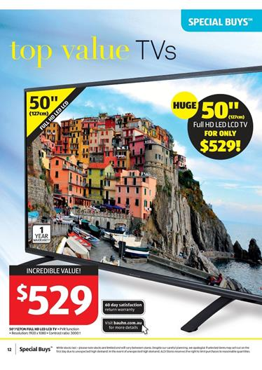 aldi special buys full hd led tv 15 jul 21 jul 2015. Black Bedroom Furniture Sets. Home Design Ideas