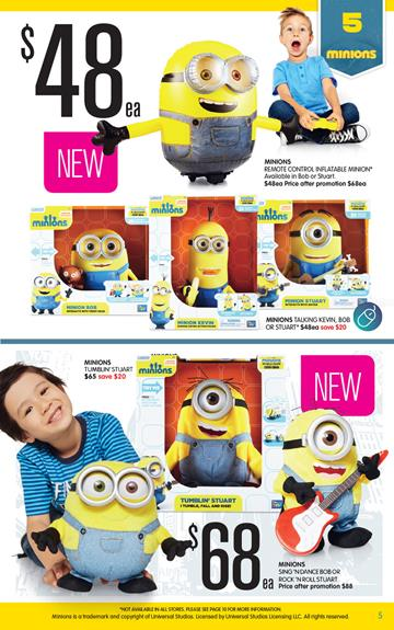 Minion Toys And Games : Big w minions toys and game sale last three days