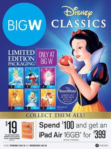 Big W Toys and Family Entertainment Catalogue 16 July 2015