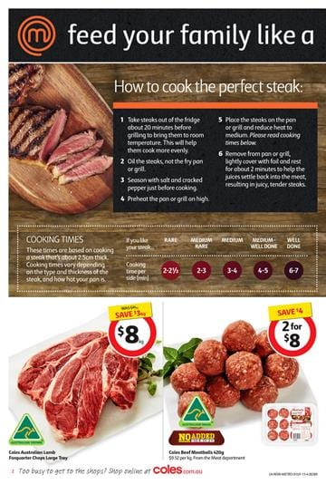 Coles This Week Catalogue Fresh Food Until 7 July 2015