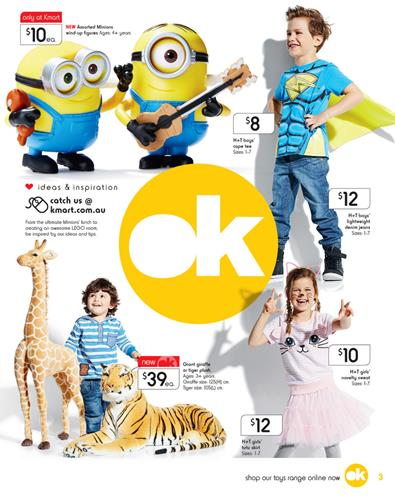 Kmart Catalogue Toy Sale July 2015 and Toy Box