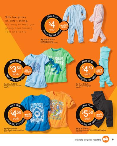 Kmart Kids Clothing 25 Jul - 29 Jul Catalogue Prices
