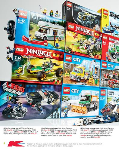 Kmart Toy Sale Catalogue LEGO Toys and Marvel Costumes July 2015