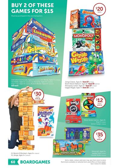 Target Toy Sale 2015 Craft Toys and Board Games