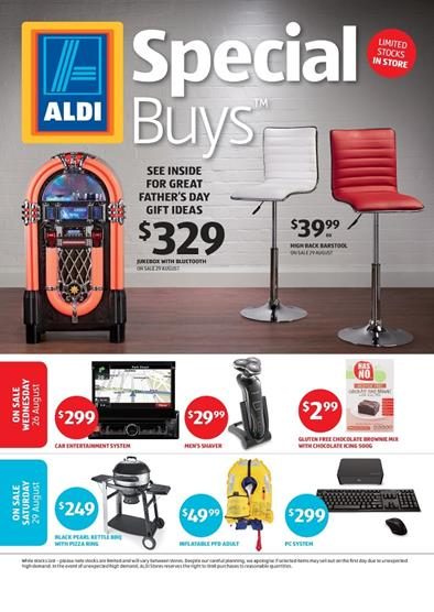 ALDI Catalogue Special Buys Week 35 August 2015