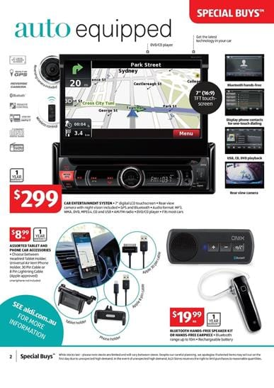 ALDI Catalogue Special Buys Week 35 Fathers Day August 2015