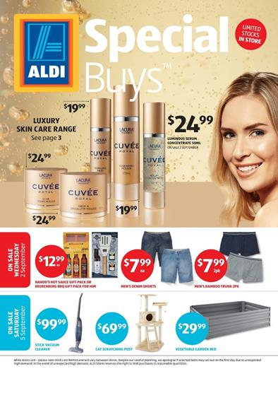 ALDI Catalogue Special Buys Week 36 Beauty Products