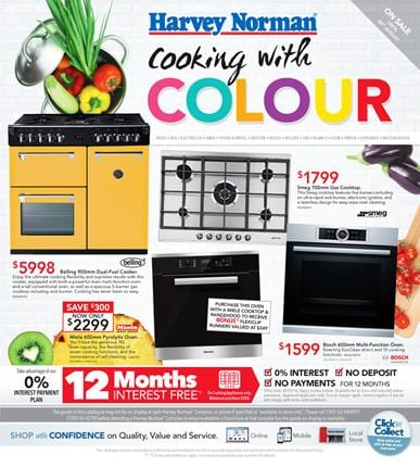 Complete Kitchen with Harvey Norman Catalogue 25 Jul - 30 Aug 2015