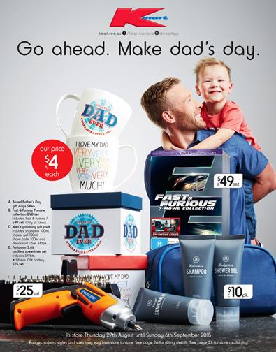 a25aa8ee Kmart Catalogue Fathers Day Gifts 27 Aug 2015