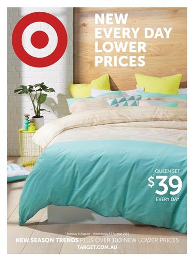 Target Catalogue Bedroom Products 9 Aug 2015