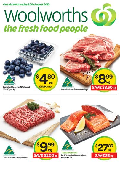 Woolworths Catalogue Specials 26 Aug - 1 Sep 2015