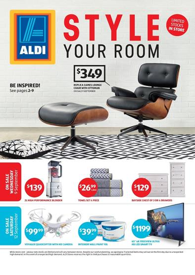 ALDI Catalogue Special Buys Week 37 Furniture