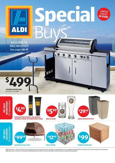 ALDI Catalogue Special Buys Week 39 Outdoor and Garden 2015