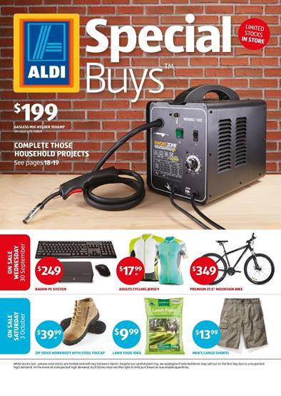 Aldi Catalogue Special Buys Week 40 September 2015