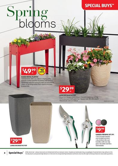 Aldi special buys week 39 gardening products 23 september 2015 for Aldi gardening tools 2016