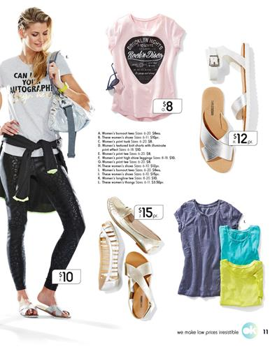 Kmart Catalogue Gym Products and Outfits September 2015