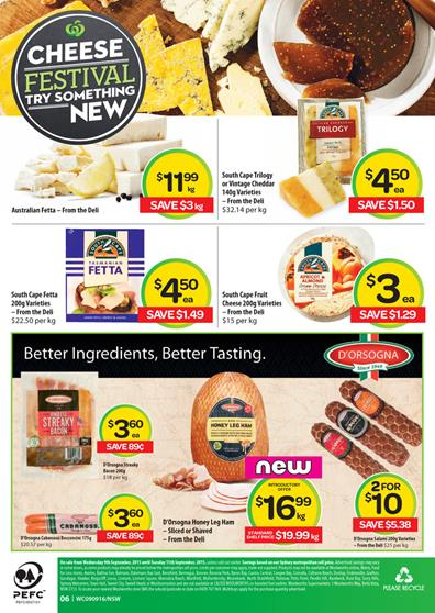 Woolworths Catalogue Savings 11 Sep 2015