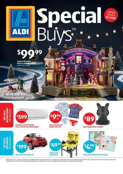 ALDI Catalogue Special Buys Christmas Products October 2015