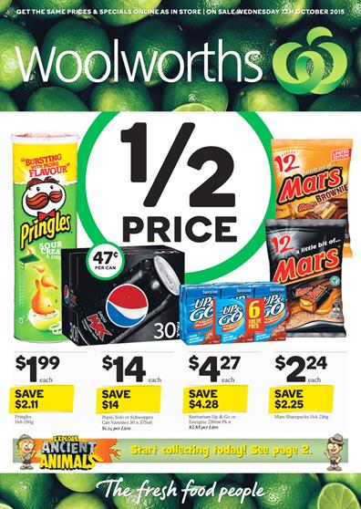 Woolworths Catalogue 7 Oct 2015