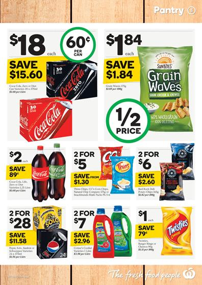 Woolworths Catalogue Pantry Products 14 Oct 2015