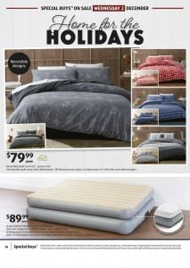 ALDI Catalogue Bedroom Specials 2 - 5 Nov 2015