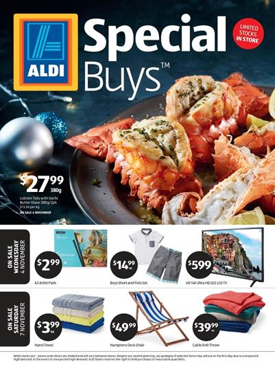 ALDI Catalogue Special Buys Week 45 4 November 2015