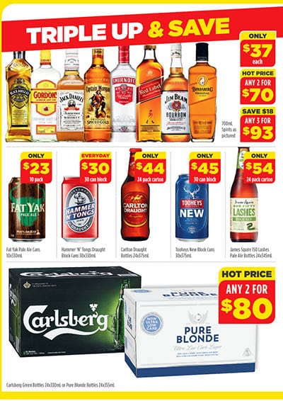 Coles Catalogue Drink Specials 4 - 10 Nov 2015